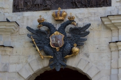 Enterance of Peter and Paul Fortress